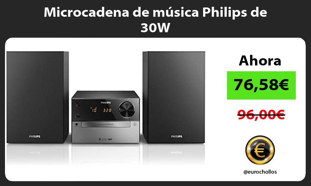 Microcadena de música Philips de 30W