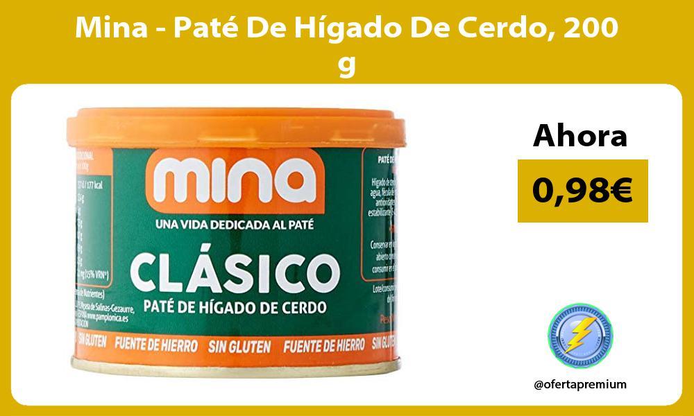 Mina Paté De Hígado De Cerdo 200 g