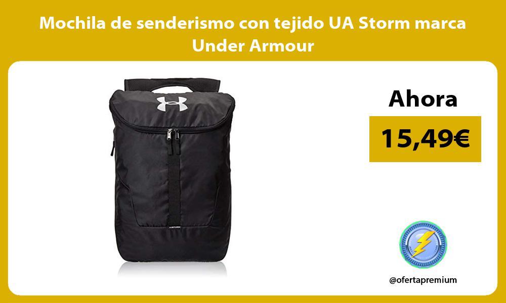 Mochila de senderismo con tejido UA Storm marca Under Armour