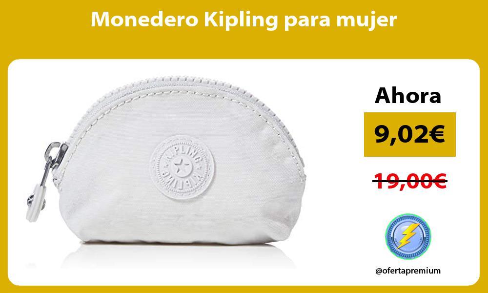 Monedero Kipling para mujer