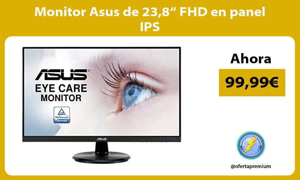 """Monitor Asus de 238"""" FHD en panel IPS"""
