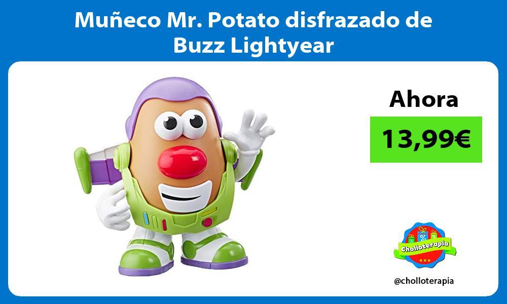 Muñeco Mr Potato disfrazado de Buzz Lightyear
