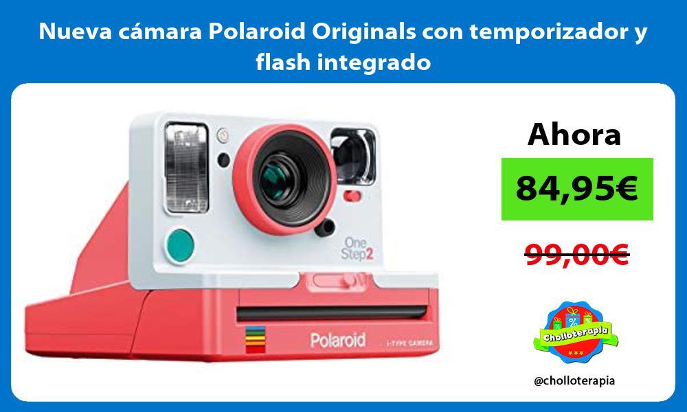 Nueva cámara Polaroid Originals con temporizador y flash integrado