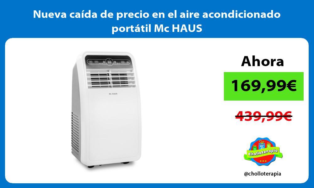 Nueva caída de precio en el aire acondicionado portátil Mc HAUS