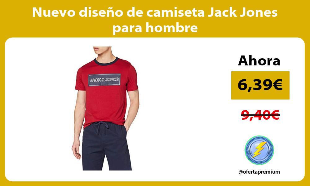 Nuevo diseño de camiseta Jack Jones para hombre