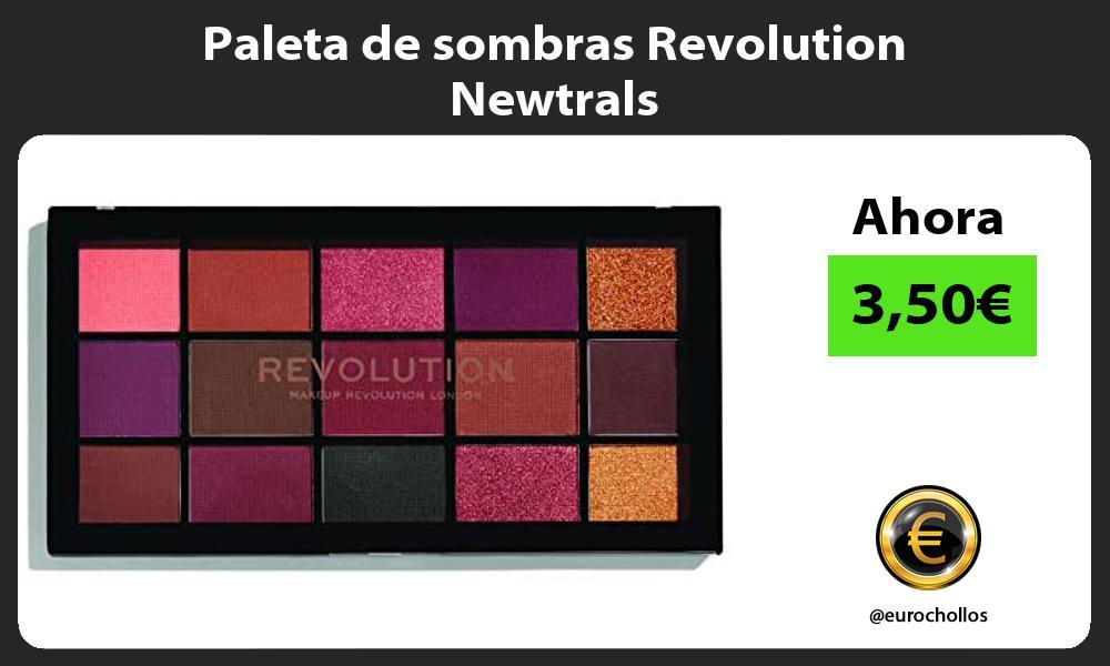 Paleta de sombras Revolution Newtrals