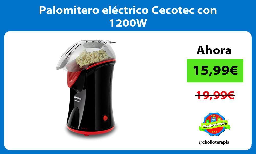 Palomitero eléctrico Cecotec con 1200W