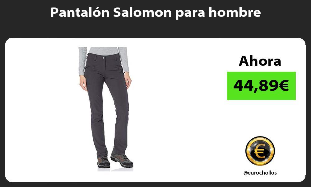 Pantalón Salomon para hombre