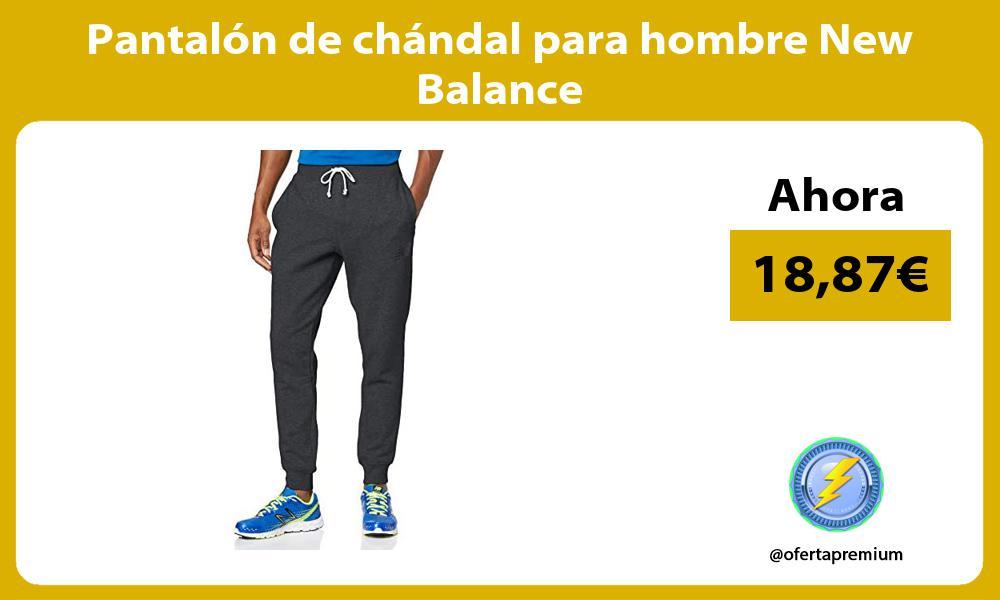 Pantalón de chándal para hombre New Balance