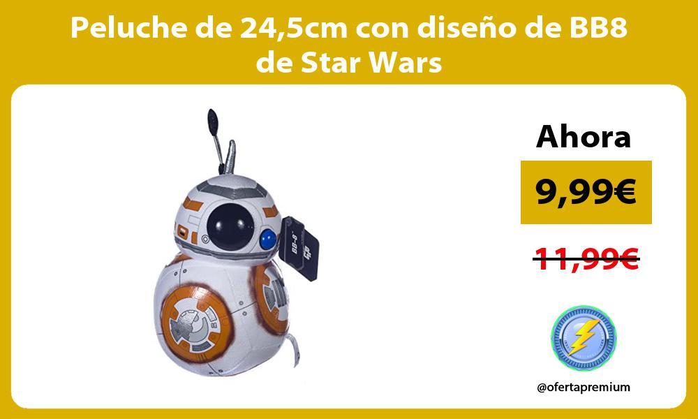 Peluche de 245cm con diseño de BB8 de Star Wars