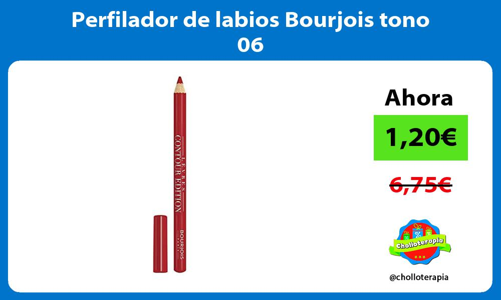 Perfilador de labios Bourjois tono 06