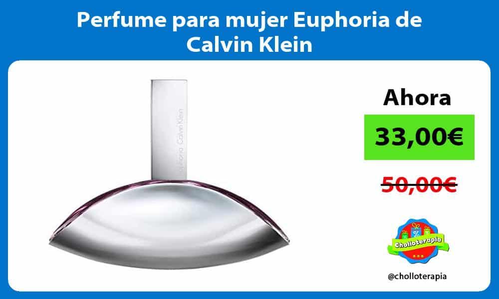 Perfume para mujer Euphoria de Calvin Klein