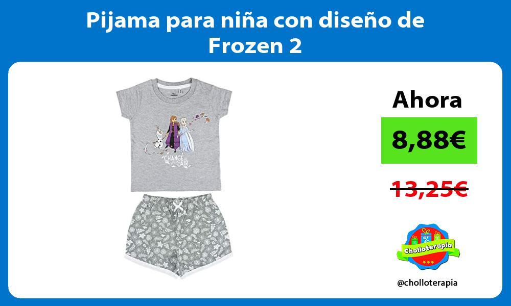 Pijama para niña con diseño de Frozen 2