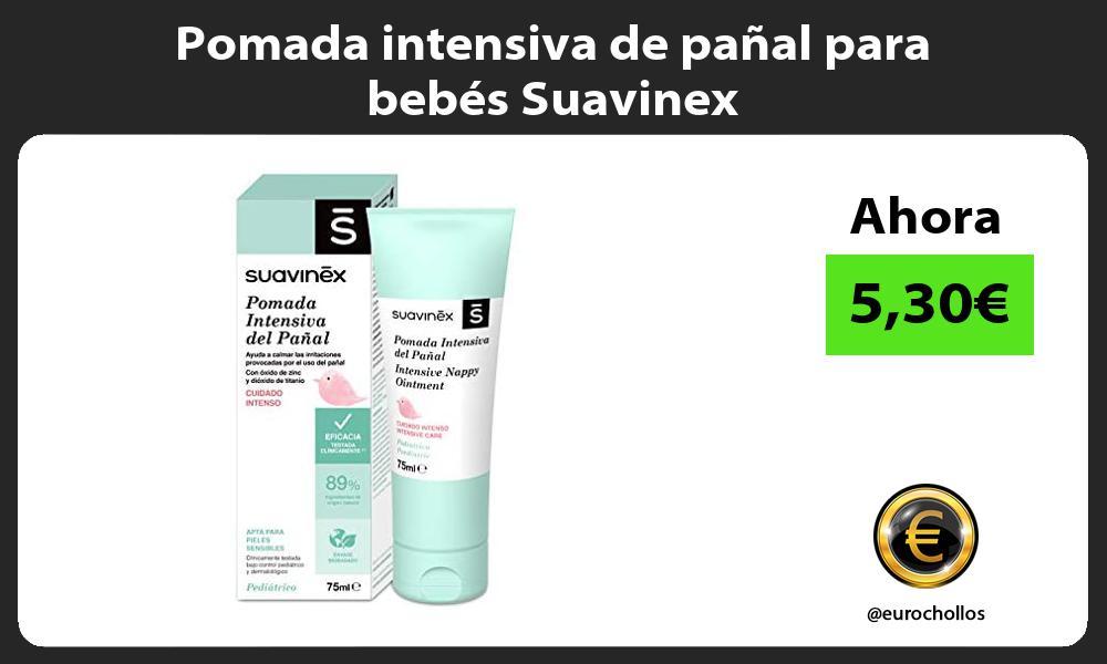 Pomada intensiva de pañal para bebés Suavinex