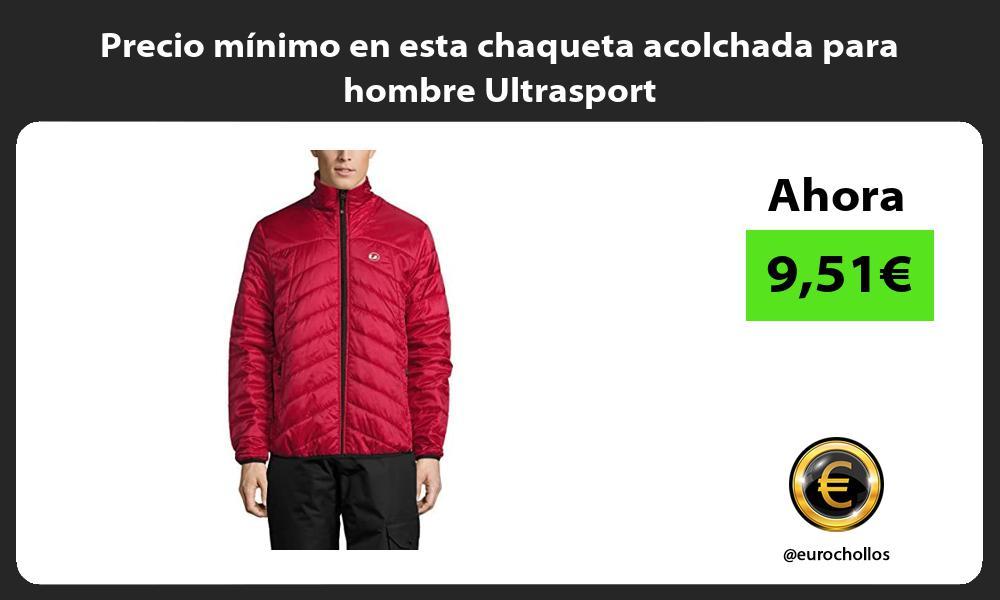 Precio mínimo en esta chaqueta acolchada para hombre Ultrasport