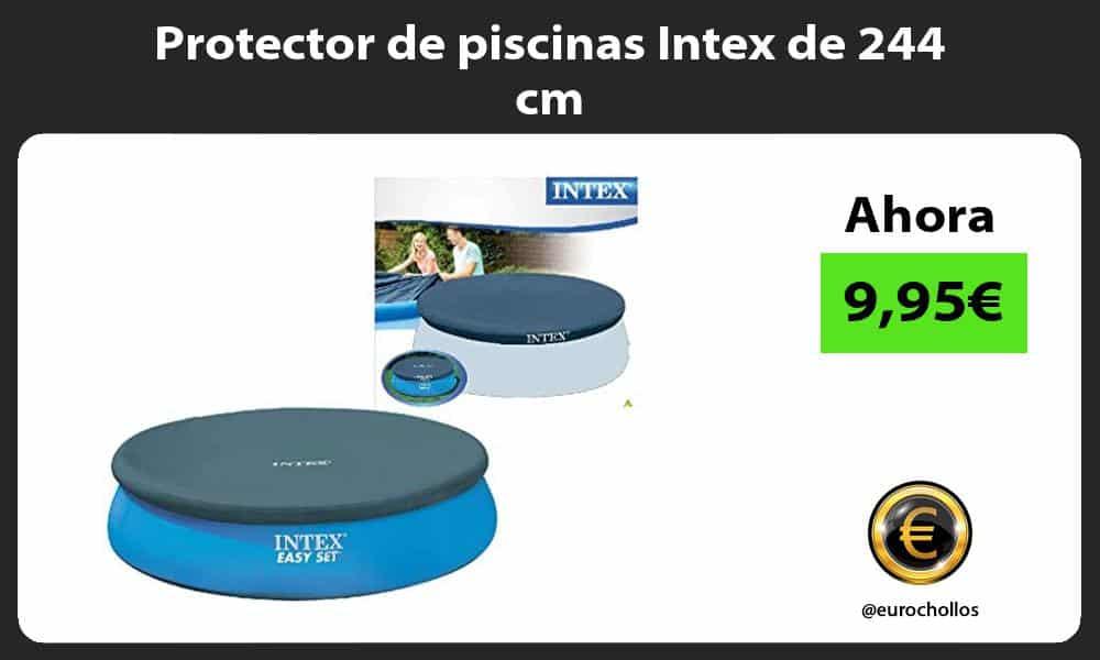 Protector de piscinas Intex de 244 cm