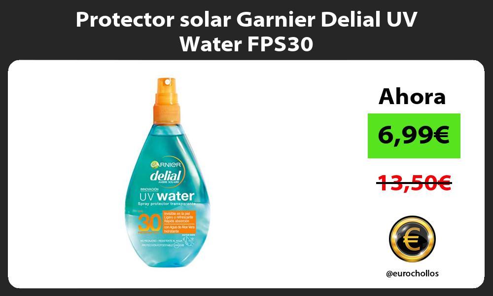 Protector solar Garnier Delial UV Water FPS30