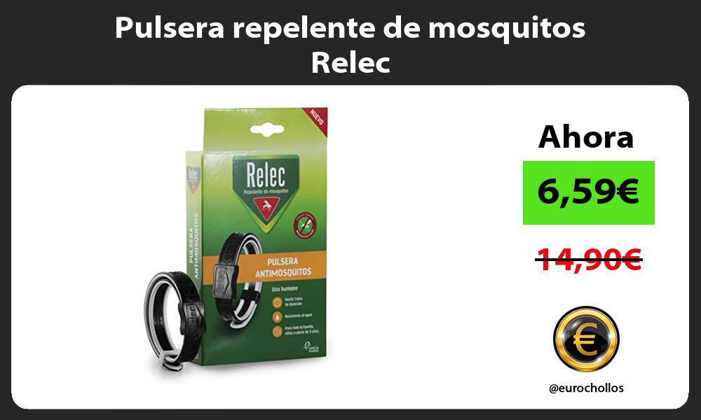 Pulsera repelente de mosquitos Relec