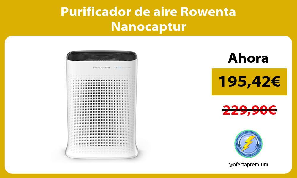 Purificador de aire Rowenta Nanocaptur