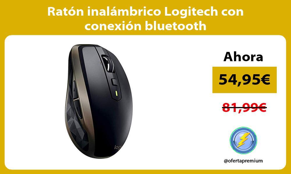 Ratón inalámbrico Logitech con conexión bluetooth