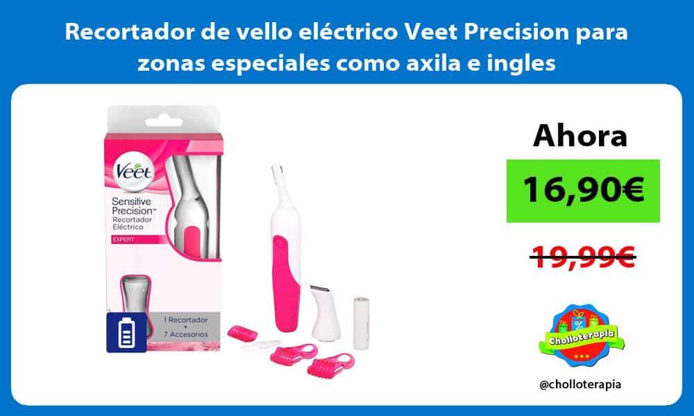 Recortador de vello eléctrico Veet Precision para zonas especiales como axila e ingles