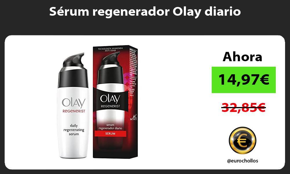 Sérum regenerador Olay diario