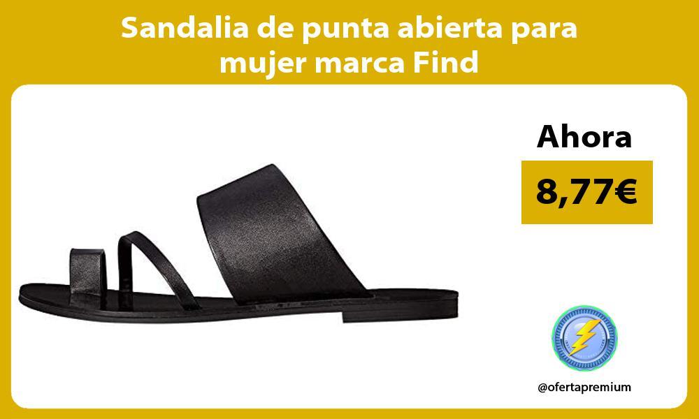 Sandalia de punta abierta para mujer marca Find