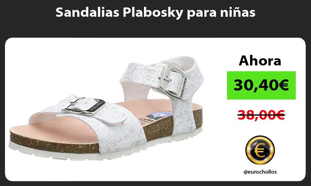 Sandalias Plabosky para niñas