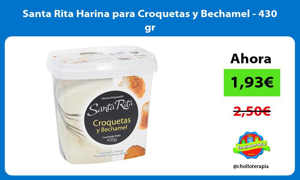 Santa Rita Harina para Croquetas y Bechamel 430 gr