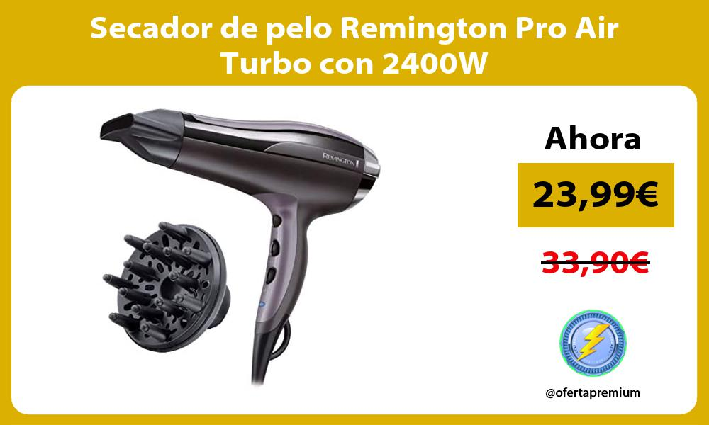 Secador de pelo Remington Pro Air Turbo con 2400W