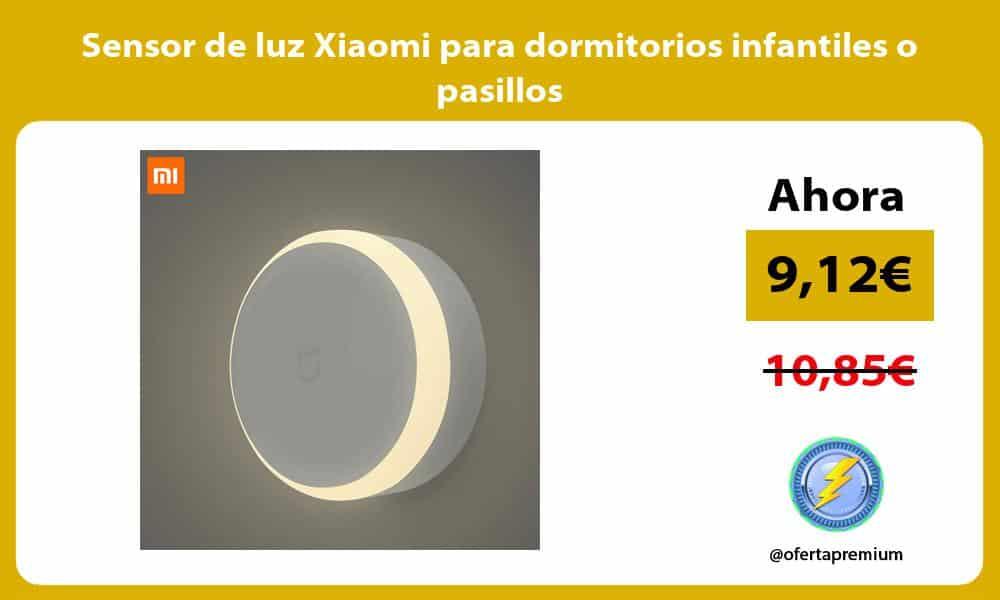 Sensor de luz Xiaomi para dormitorios infantiles o pasillos