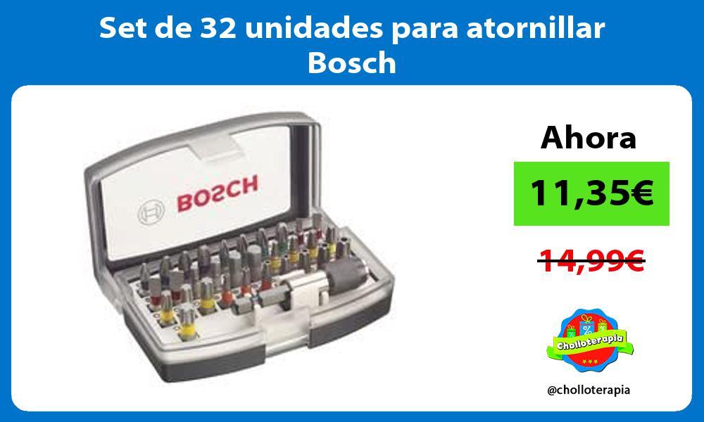 Set de 32 unidades para atornillar Bosch