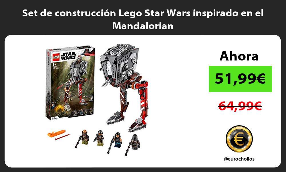 Set de construcción Lego Star Wars inspirado en el Mandalorian