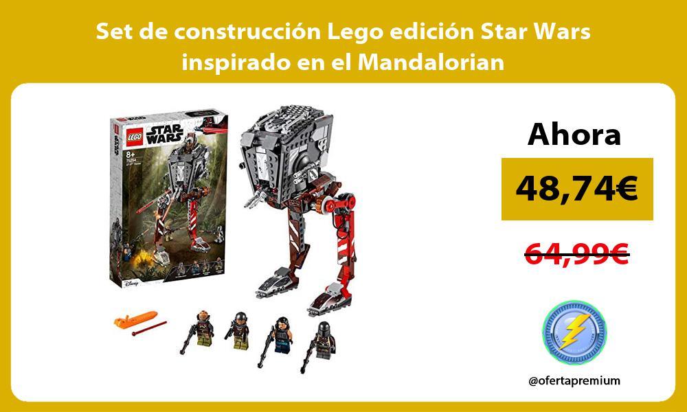 Set de construcción Lego edición Star Wars inspirado en el Mandalorian