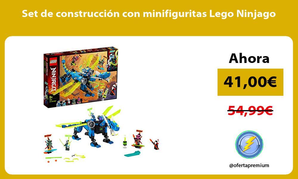 Set de construcción con minifiguritas Lego Ninjago