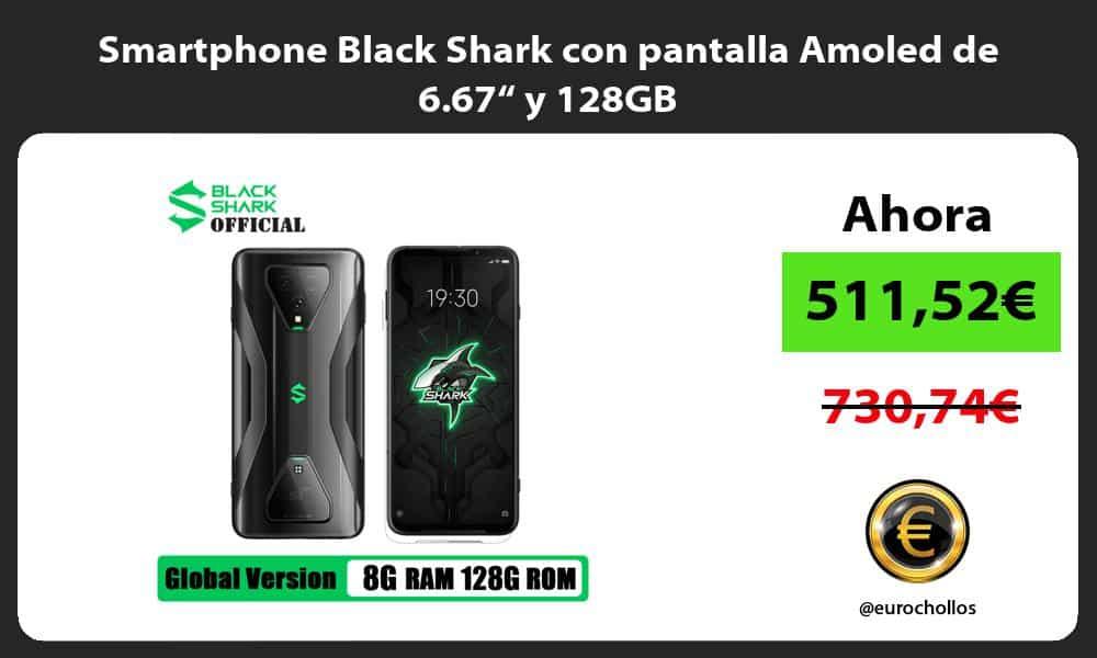 """Smartphone Black Shark con pantalla Amoled de 6 67"""" y 128GB"""
