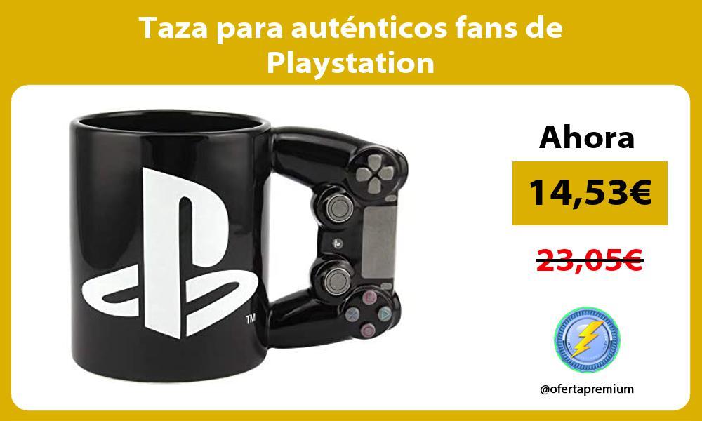 Taza para auténticos fans de Playstation