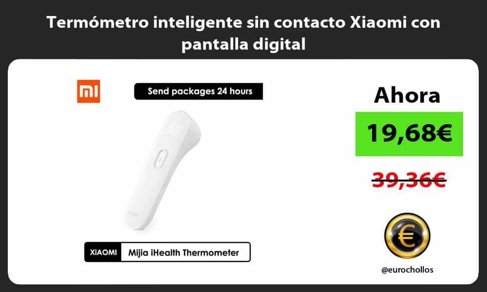 Termómetro inteligente sin contacto Xiaomi con pantalla digital