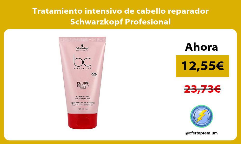 Tratamiento intensivo de cabello reparador Schwarzkopf Profesional