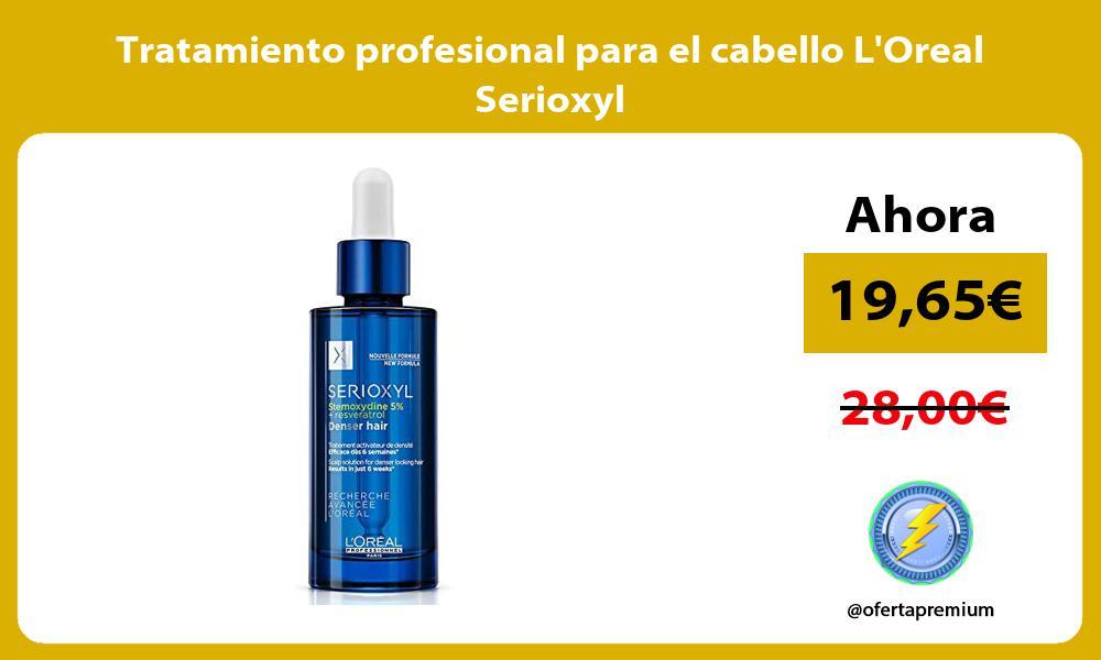 Tratamiento profesional para el cabello LOreal Serioxyl