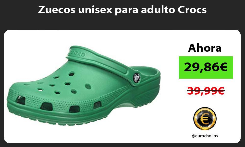 Zuecos unisex para adulto Crocs