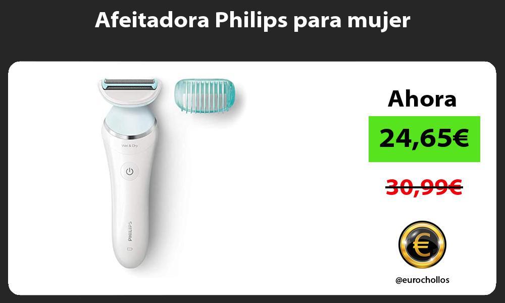 Afeitadora Philips para mujer