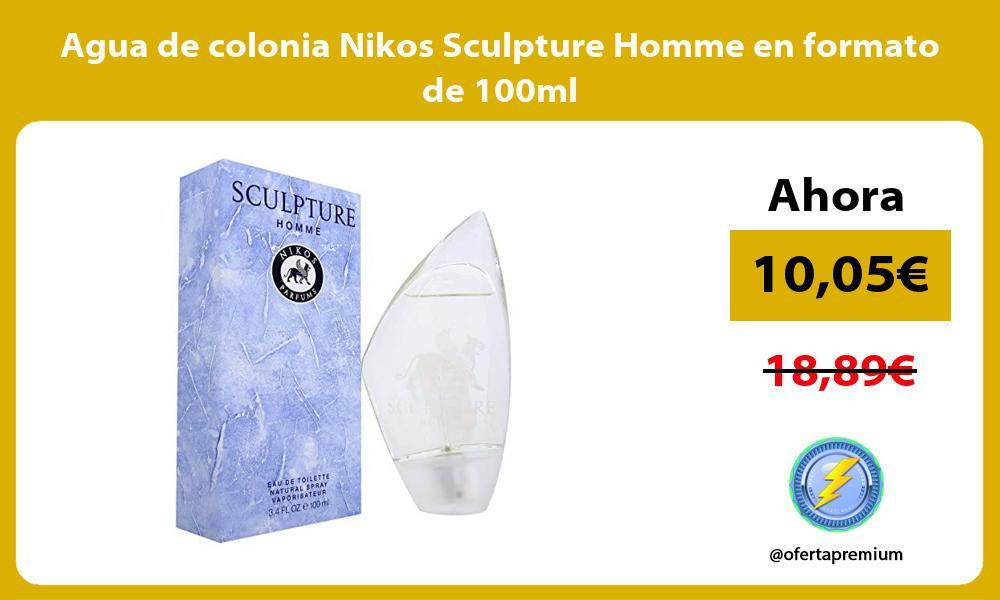 Agua de colonia Nikos Sculpture Homme en formato de 100ml