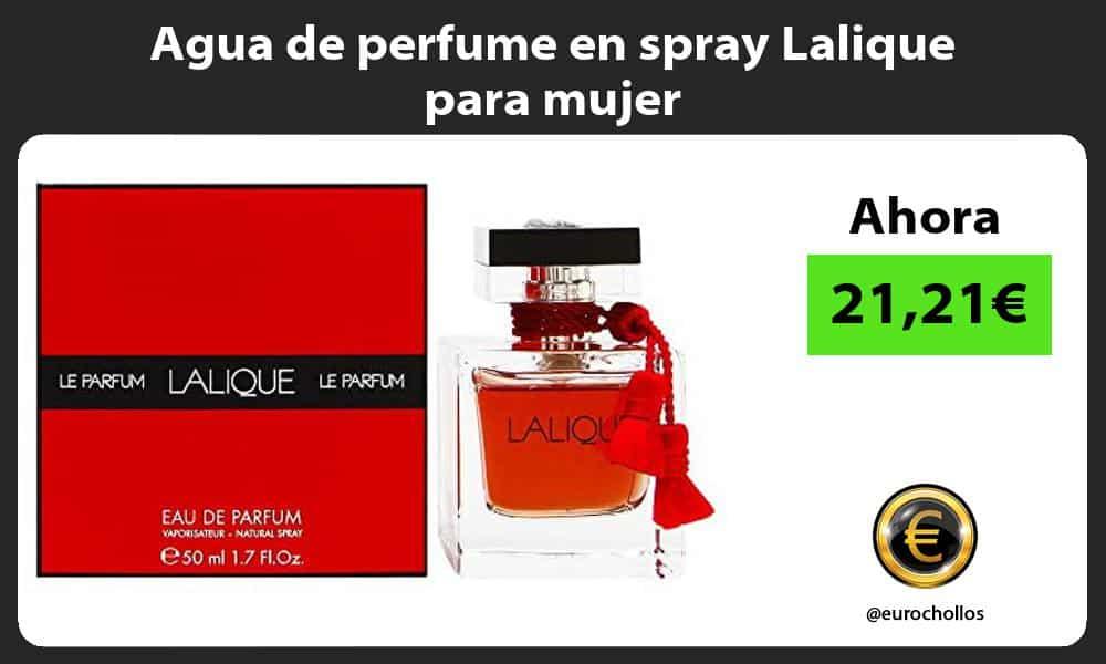 Agua de perfume en spray Lalique para mujer