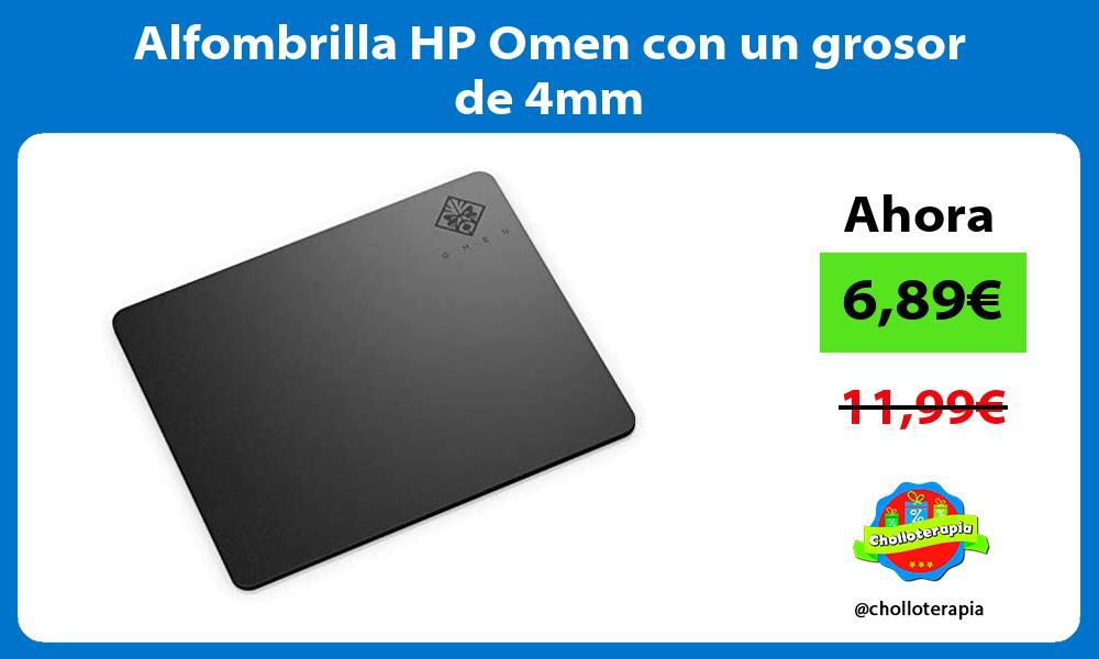 Alfombrilla HP Omen con un grosor de 4mm