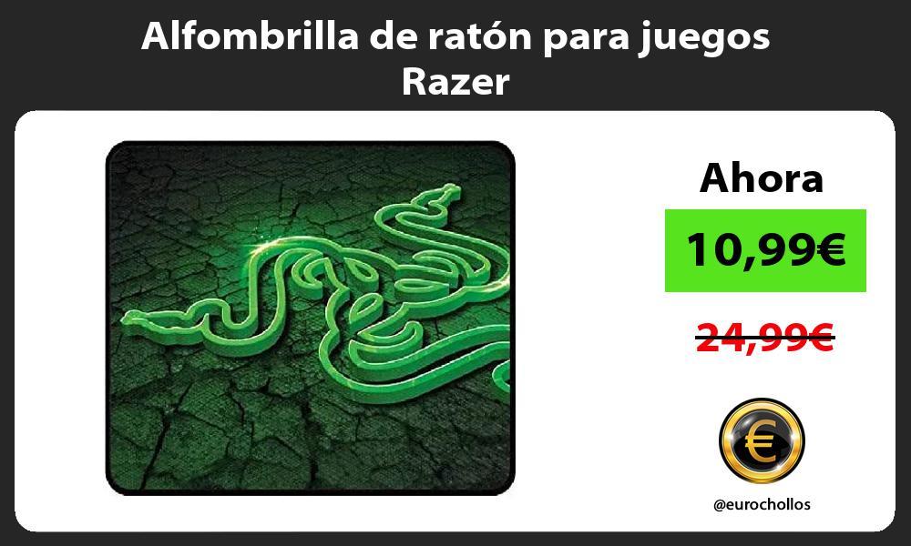 Alfombrilla de ratón para juegos Razer