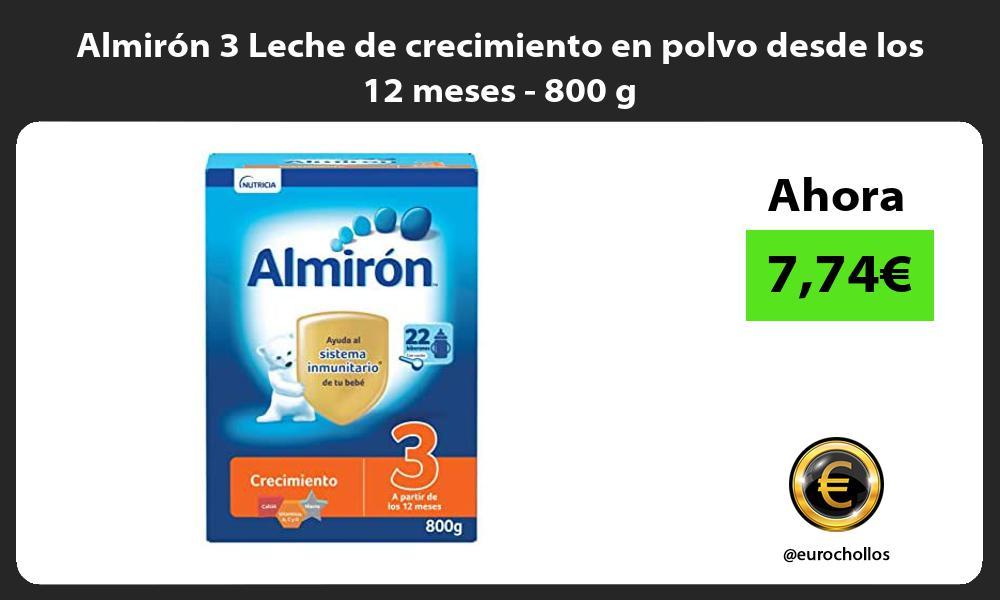 Almirón 3 Leche de crecimiento en polvo desde los 12 meses 800 g