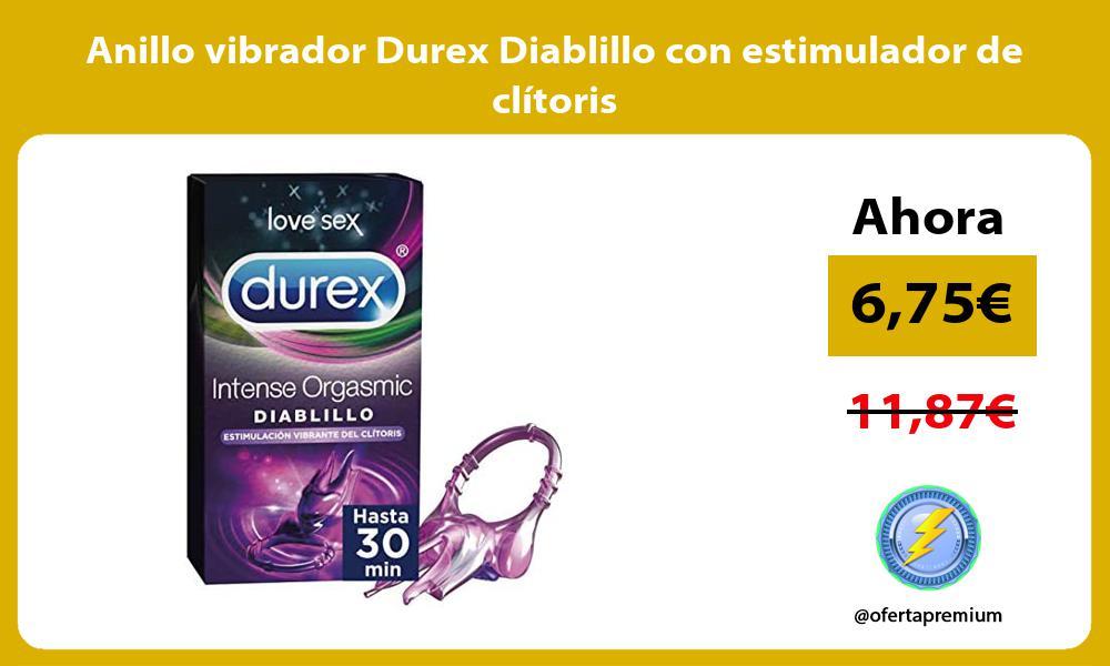 Anillo vibrador Durex Diablillo con estimulador de clítoris