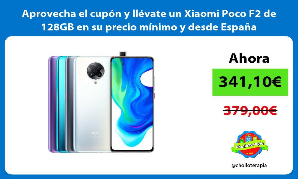 Aprovecha el cupón y llévate un Xiaomi Poco F2 de 128GB en su precio mínimo y desde España