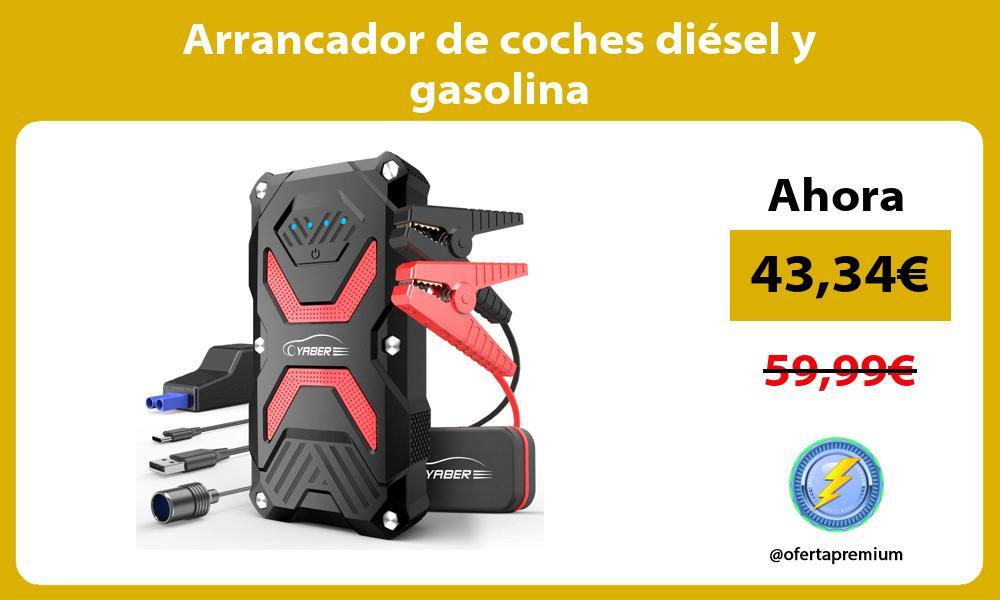 Arrancador de coches diésel y gasolina